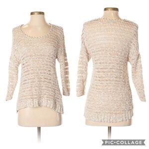 Lucky Brand Linen Sweater Small
